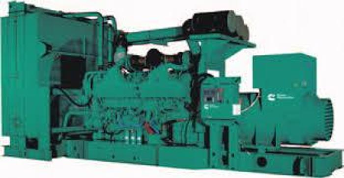 Used 1 MW 1998 Used Cummins KTA50G7 Diesel Generator Set