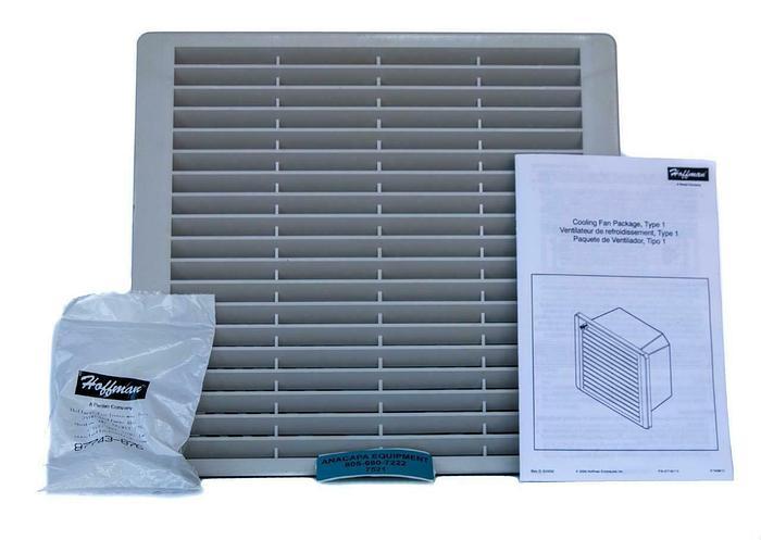 """Hoffman TFP102 Cooling Fan Package, 10"""", 230V NEW (7521)W"""