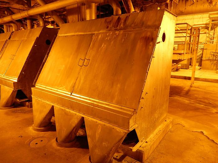 """Used 96"""""""" ANDRITZ SPROUT BAUER HYDRASIEVE SIDEHILL SCREEN"""