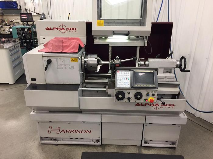 1997 Harrison Alpha 400 Plus CNC Engine Lathe #1558