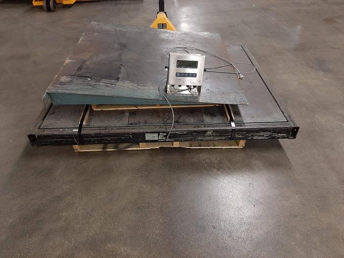 Used Matrix MS5410 5000 lb. Industrial Floor Scale