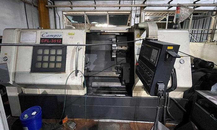 Used USED CAMPRO CPL-3512 CNC PRECISION LATHE