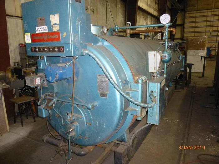 Used 1986 Cleaver Brooks 100 HP  Hot water Boiler  CB-700-100