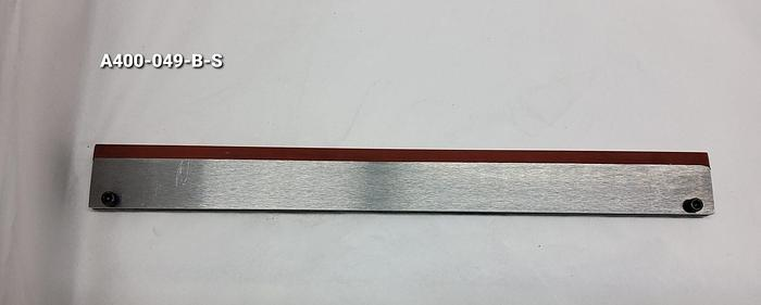 Plate, Stripper with Rubber, Stainless Steel
