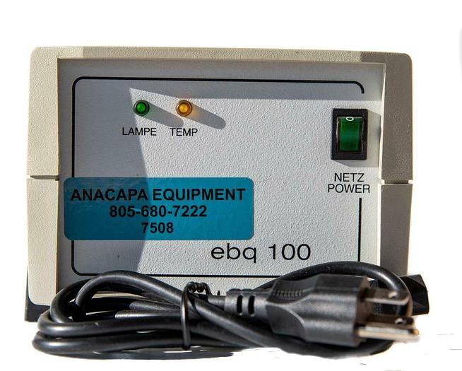 Used Lej Jena Ebq 100 DC Microscope Mercury Lamp Power Supply USED (7508) W