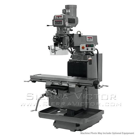 JET JTM-1254VS with 2-Axis ACU-RITE G-2 MILLPOWER CNC, 691940