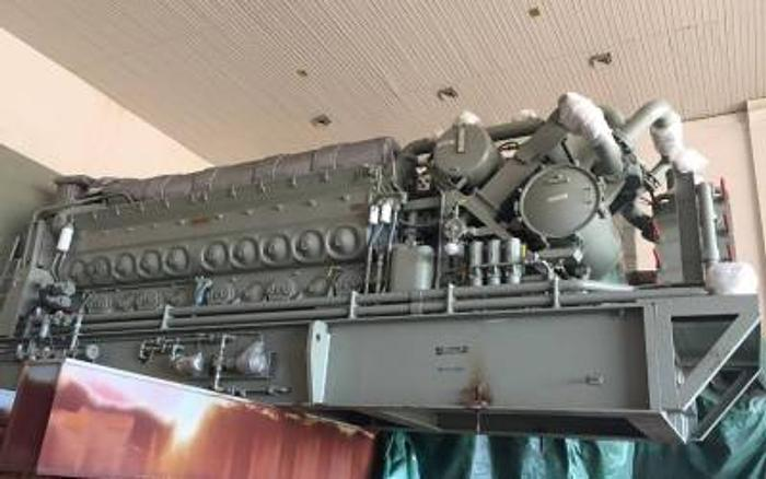 3.73 MW 2008 New EMD L12-710G78 Diesel Generator