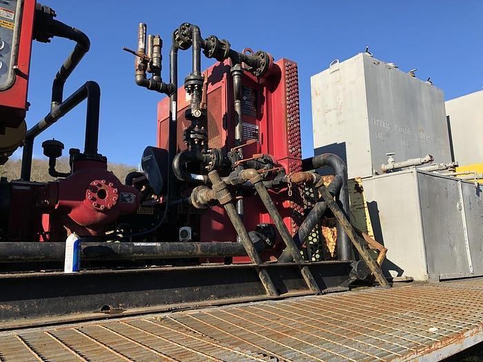 2004 Ariel IR Air compressor with Ariel Booster Compressor oil field