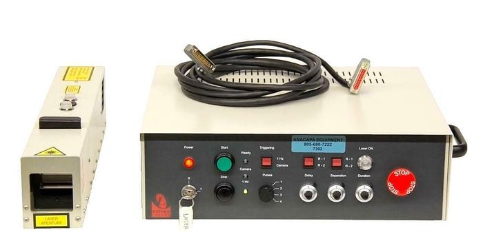 Used Oxford Lasers HSI-2000 Diode Laser Module w/ Laserhead FOR PARTS (7392)R