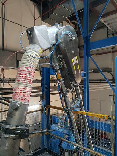 Used 2015 ENTECON Rotary Screw Powder Conveyor
