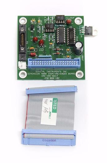 Used Digital Instruments Dimension 9000 Zoom / VAC/ Chuck Board D9K-HAK-B217 (4236)
