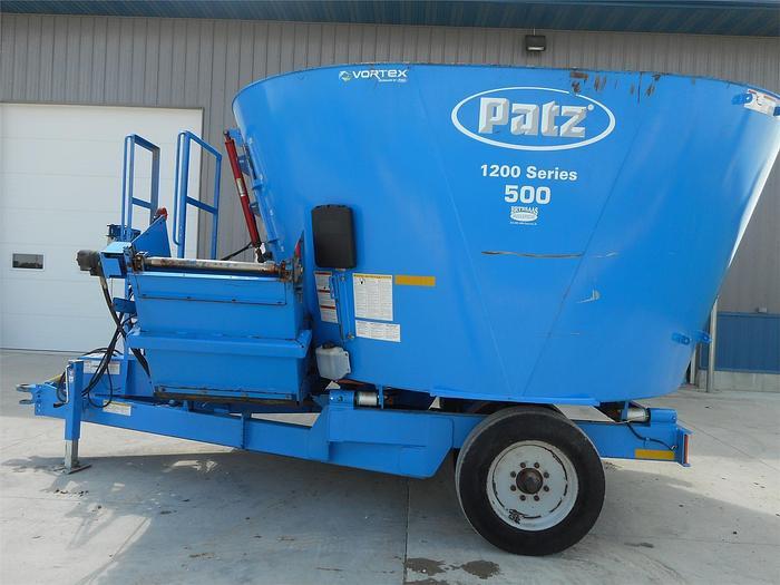 Used PATZ 500 Vertical TMR Mixer