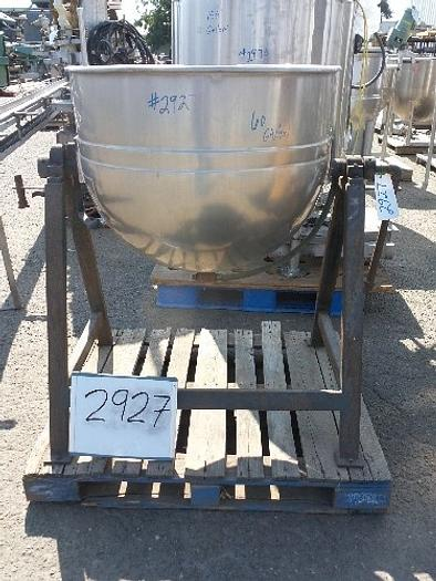 LEE 60 Gallon Jacketed Mix Kettle