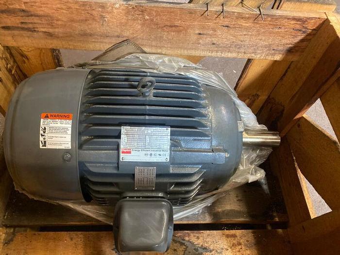 New Dayton 30hp Motor 3KV98A 286T, FCT 230/460v 190/380v 1770/1460rpm Warranty