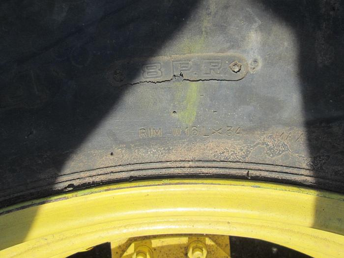Galaxy 18.4-34 Tractor Tires And Rims