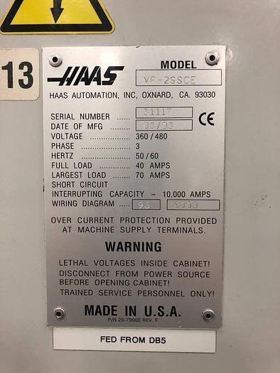 2003 Haas VF2SS
