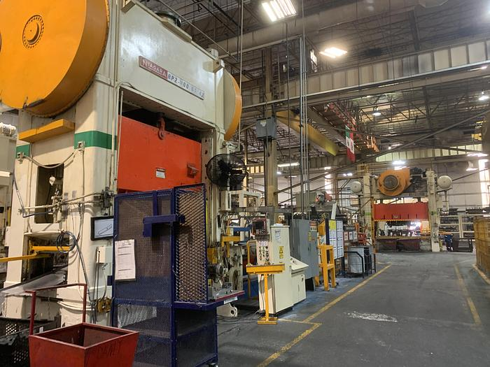 "600 ton Niagara 96""x42"" SSDC Stamping Press"