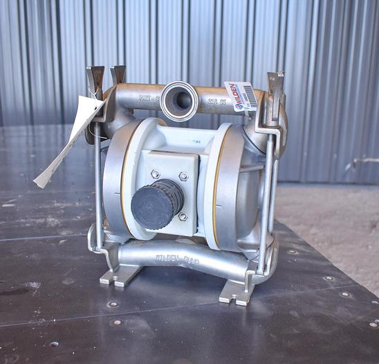 """Used USED WILDEN DIAPHRAGM PUMP, 1.5"""" X 1"""" INLET & OUTLET, 316 STAINLESS STEEL"""