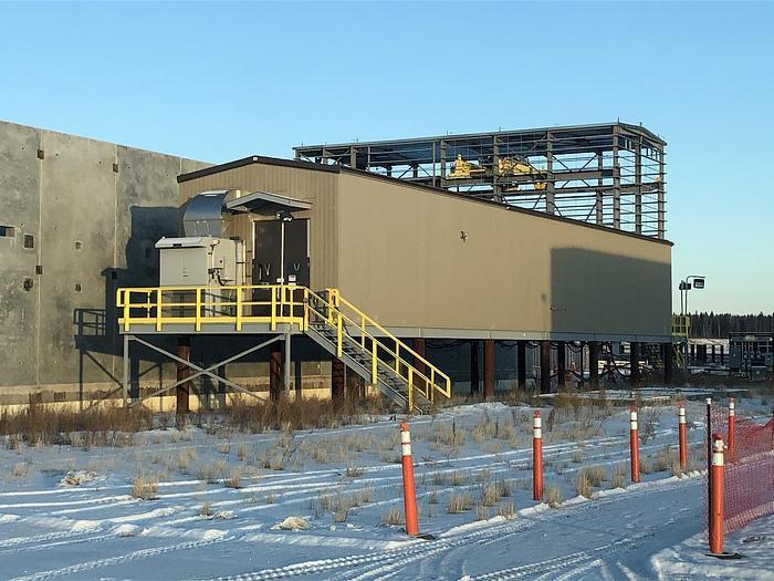 34.5kv GIS Distribution Building