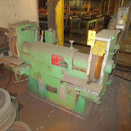 "Used Cincinnati Model 100 Double Ended Grinder; 24""; S/N 237542"
