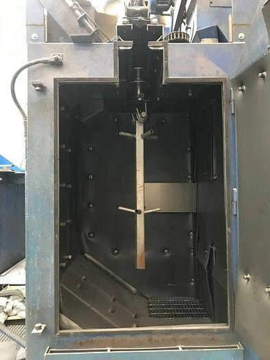 Wheelabrator WS-210 Spinner Hanger Shot Blast Machine
