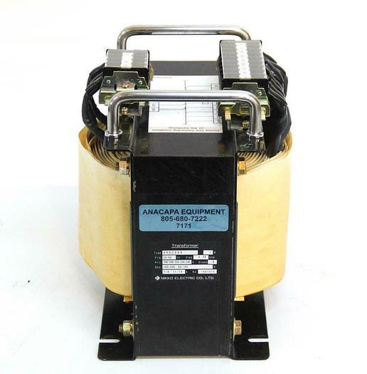 Used Nikko Electric Transformer HK0086A 4.38 KVA 1PH 50/60Hz USED (7171) R