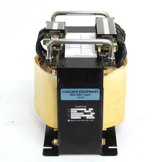 Used Nikko Electric Transformer HK0086A 4.38 KVA 1PH for Sorvall Centrifuge  (7171) R