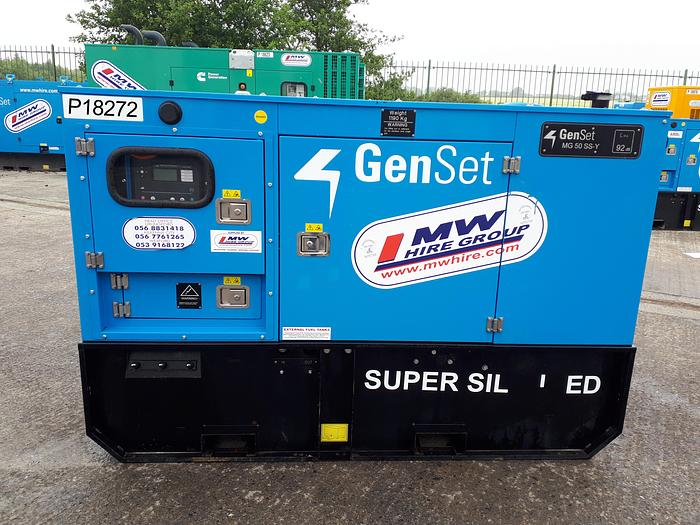 2019 Genset MG 50 SS-Y
