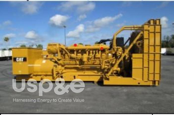 Used 2.1 MW 2020 USED CATERPILLAR 3516B DIESEL GENERATOR SETS