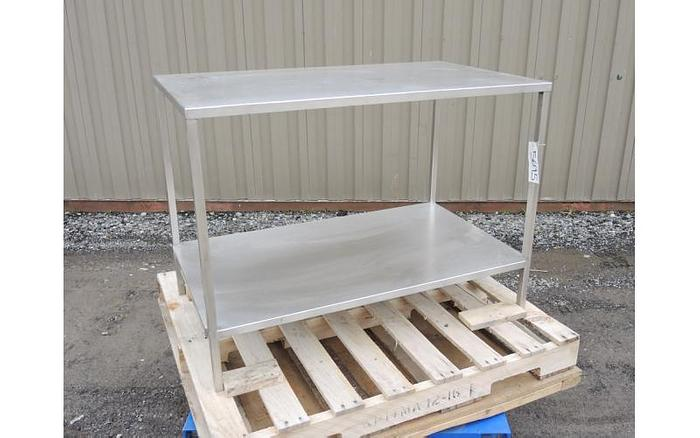 USED STAINLESS STEEL TABLE, 26'' X 44'' X 32''