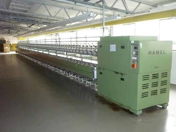 Doppeldrahtzwirnmaschine für Glasfasern HAMEL  HG 7 - 4/214.50