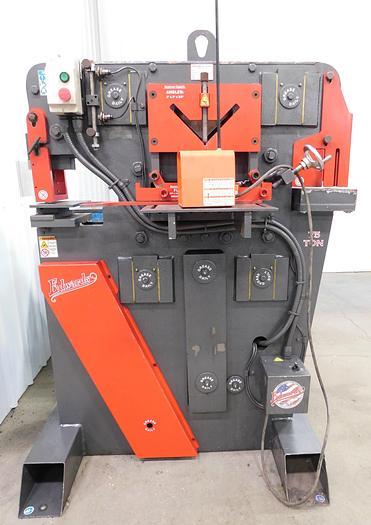 Used Edwards 75 Ton Hydraulic Ironworker IW75-3P230
