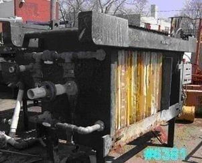 Used 8 CU. FT. DURCO FILTER PRESS – 800 MM – #6381