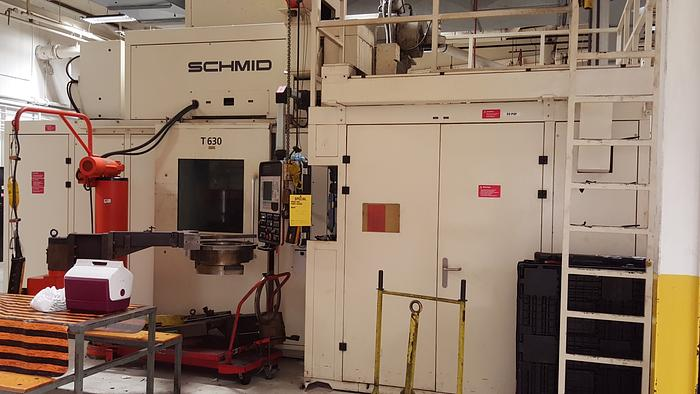 2002 SCHMID T-630 RACK FORMING PRESS