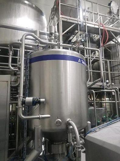 Used Tetra Pak High Shear mixer system R300-2500V