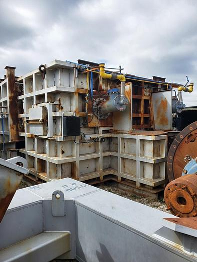 Used Applied Foundry Solutions 120,000lb Reverb Aluminum Melting Furnace: MC-442