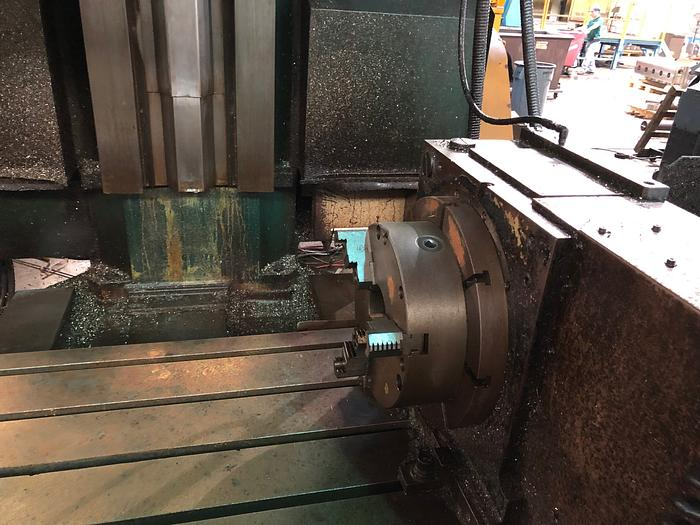 Kuraki KV1600/2000 with Rotary Table
