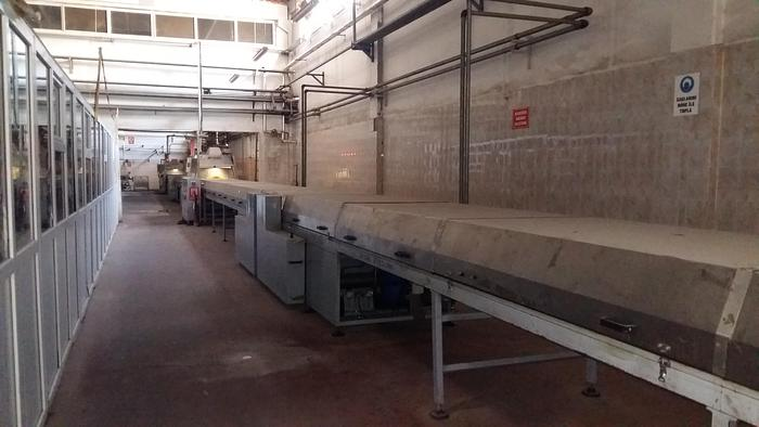 (2) 1m wide Chocolate Enrobing Lines