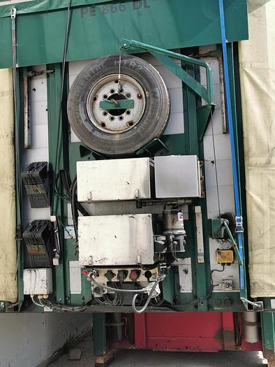 2012 2 Achs-Tiefbett-Sattelanhänger MEUSBURGER MPS-2