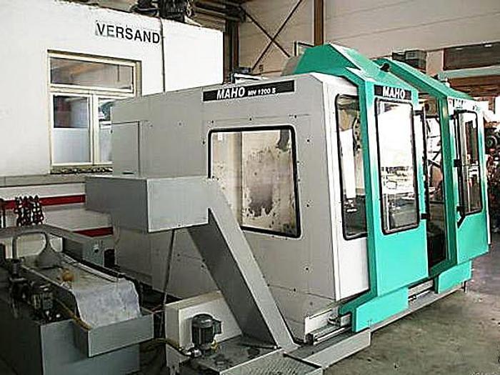 Used MAHO 1200 S WXW - 1990