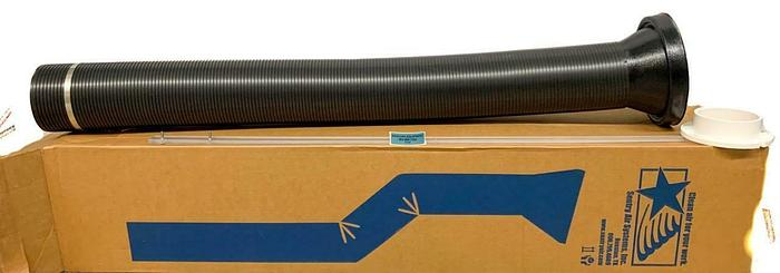 "Sentry Air Systems Fire Retardant Exhaust Hose 60"" Long 6"" Diameter NEW (7717)W"
