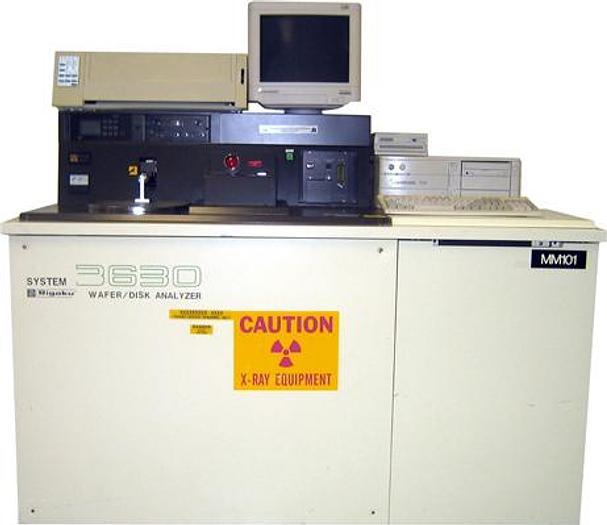 Used Rigaku 3630 TXRF WAFER/DISK ANALYZER
