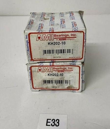 AMI Bearings KH202-10 Lot Of 2 Fast Shipping