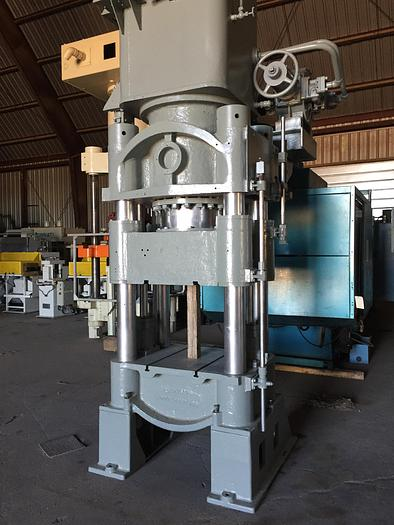 Used 350 Ton Bliss Hydraulic Press; 4 Post Down-Acting