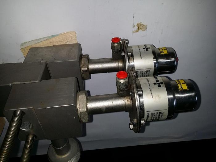 Gebraucht Hochqualitative Edelstahlventile, Valvole Hofmann Bonino Engineering