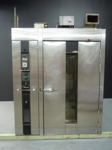 Used BAXTER OV210G-M2B LP GAS DOUBLE RACK OVEN 0001370