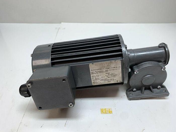 Used Baldor IDGM2503 Inverter Drive Motor Ratio 20:1 Torque 138 230V *Warranty*