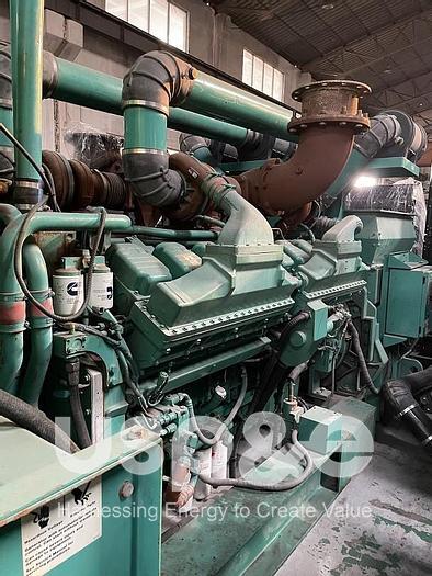 Used 2 MW 2004 Used Cummins QSK60-G8 Diesel Generator