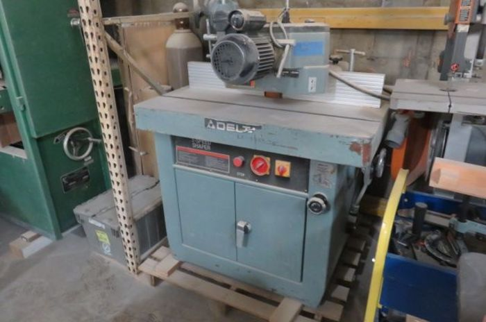 Delta Variable Speed Heavy Duty Shaper with Power Feeder