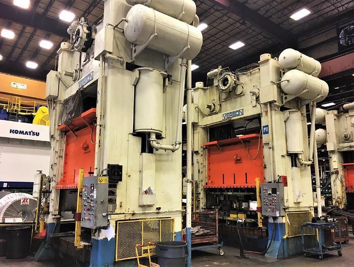 500 ton Verson SSDC Stamping Press